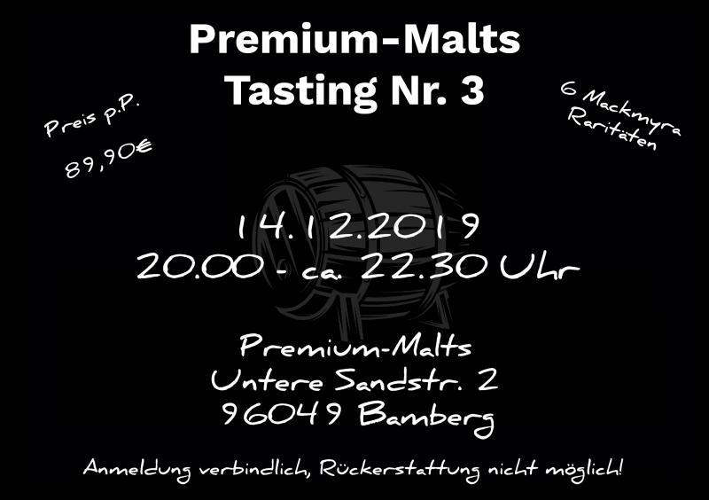 EVENT #3 - 14.12.2019 - MACKMYRA Raritätentasting